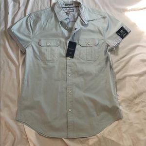 NWT men's casual button down